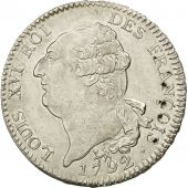Coin, France, Écu de 6 livres françois, 1792, Paris, MS(63), Silver