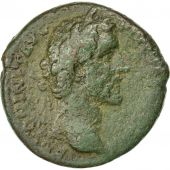 Coin, Antoninus Pius, As, 143-144, Rome, VF(20-25), Bronze, RIC:733
