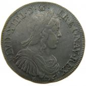 Louis XIV, ½ Ecu with long hair
