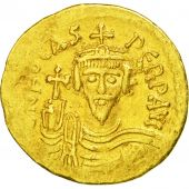 Coin, Phocas, Solidus, 602-610, Constantinople, EF(40-45), Gold, Sear:620