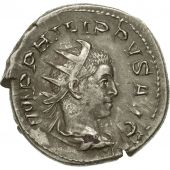 Coin, Philip II, Antoninianus, 246-248, Rome, AU(50-53), Billon, RIC:223