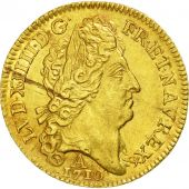 Coin, France, Louis XIV, Louis dor au soleil, 1710, Paris, AU(55-58), Gold