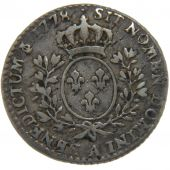 Louis XVI, 1/10e Ecu with Oliv Tree Branches