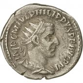 Coin, Philip I, Antoninianus, 244-246, Rome, EF(40-45), Billon, RIC:70