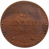 French Second Republic, 1 Centime Dupr�