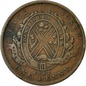 Coin, Canada, LOWER CANADA, 2 Sous, PENNY, 1842, Soho Mint, Birmingham