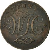 Coin, Great Britain, Staffordshire, Penny Token, 1803, Stafford, VF(30-35)