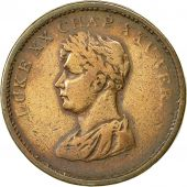 Coin, Ireland, Edward Stephens, Penny Token, 1822, Dublin, VF(20-25), Copper