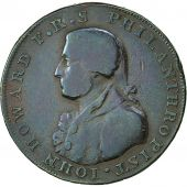 Coin, Great Britain, Hampshire, Halfpenny Token, 1794, Portsmouth, VF(20-25)