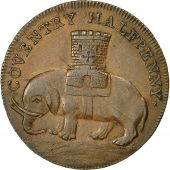Coin, Great Britain, Warwickshire, Halfpenny Token, 1792, Coventry, AU(50-53)