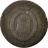 Coin, Great Britain, Suffolk, Halfpenny Token, 1794, Blything, VF(20-25), Copper