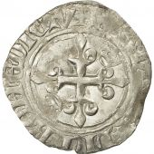Coin, France, Charles VI, Florette, Angers, EF(40-45), Billon, Duplessy:387A