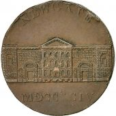 Coin, Great Britain, Newgate Prison, Halfpenny Token, 1794, Middlesex