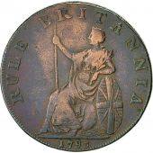 Coin, Great Britain, Hampshire, Halfpenny Token, 1795, Portsmouth, VF(30-35)