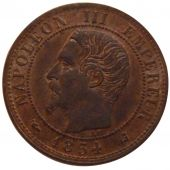Second French Empire, 1 Centime Napol�on III Bare Head