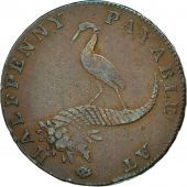 Coin, Great Britain, Birmingham Coining & Copper Company, Halfpenny Token, 1794