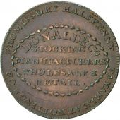 Coin, Great Britain, Nottinghamshire, Donald & Co, Halfpenny Token, 1792