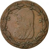 Monnaie, Grande-Bretagne, Wales, Halfpenny Token, 1788, Anglesey, TB, Cuivre