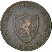 Coin, Great Britain, General Convenience, Halfpenny Token, 1795, Middlesex