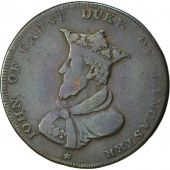 Coin, Great Britain, Lancashire, Halfpenny Token, 1791, Lancaster, VF(20-25)