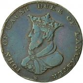 Coin, Great Britain, Lancashire, Halfpenny Token, 1791, Lancaster, VF(30-35)