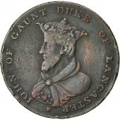 Coin, Great Britain, Lancashire, Halfpenny Token, 1792, Lancaster, VF(30-35)
