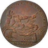 Coin, Great Britain, Lancashire, Halfpenny Token, 1791, Lancaster, Mule