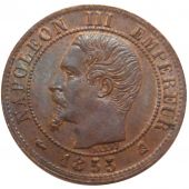 Second Empire, 1 Centime Napol�on III Naked Head