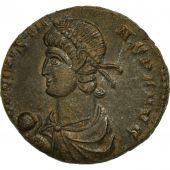 Monnaie, Constans, Centenionalis, 348-350, Trèves, TTB+, Bronze, RIC:221