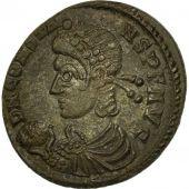 Monnaie, Constans, Centenionalis, 348-350, Lyon, TTB+, Bronze, RIC:85