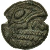 Monnaie, Bellovaques, Statère, TTB, Bronze, Delestrée:285