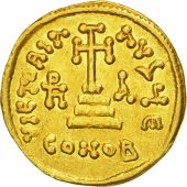 Coin, Heraclius, Solidus, 637-638, Constantinople, AU(50-53), Gold, Sear:764