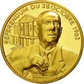 France, Médaille, Charles De Gaulle, Référendum du 28 octobre 1962, 1970