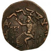 Coin, Baktrian Kingdom, Hermaios, Tetradrachm, EF(40-45), Bronze