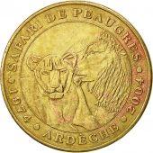 France, Jeton, Jeton Touristique, Peaugres -  Safari, 2004, Monnaie de Paris