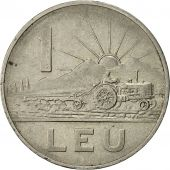 Roumanie, Leu, 1963, TTB, Nickel Clad Steel, KM:90