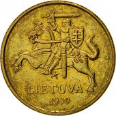 Lithuania, 20 Centu, 1999, TTB+, Nickel-brass, KM:107