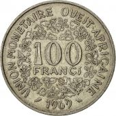 West African States, 100 Francs, 1969, TTB, Nickel, KM:4