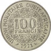 West African States, 100 Francs, 1971, TTB+, Nickel, KM:4