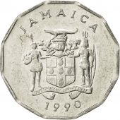 Jamaica, Elizabeth II, Cent, 1990, British Royal Mint, TTB+, Aluminium, KM:64