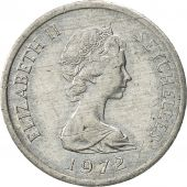 Seychelles, Cent, 1972, British Royal Mint, AU(50-53), Aluminum, KM:17