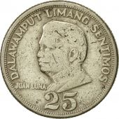 Philippines, 25 Sentimos, 1971, TTB, Copper-Nickel-Zinc, KM:199