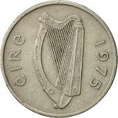 IRELAND REPUBLIC, 5 Pence, 1975, TTB, Copper-nickel, KM:22