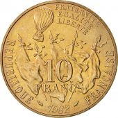 France, Gambetta, 10 Francs, 1982, Paris, SUP, Nickel-Bronze, KM:950