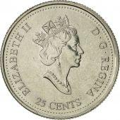 Canada, Elizabeth II, 25 Cents, 2000, Royal Canadian Mint, Ottawa, TTB+, Nickel