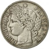 France, Cérès, 2 Francs, 1887, Paris, AU(50-53), Silver, KM:817.1