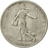 France, Semeuse, 2 Francs, 1912, Paris, VF(30-35), Silver, KM:845.1, Gadoury:532