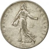 France, Semeuse, 2 Francs, 1910, Paris, VF(30-35), Silver, KM:845.1, Gadoury:532