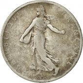 France, Semeuse, 2 Francs, 1898, Paris, VF(20-25), Silver, KM:845.1, Gadoury:532
