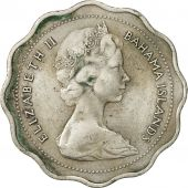Bahamas, Elizabeth II, 10 Cents, 1969, Franklin Mint, TTB, Copper-nickel, KM:4